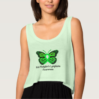 Non-Hodgkin's Lymphoma Awareness: Butterfly Singlet