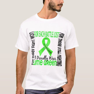 Non-Hodgkin's Lymphoma I Proudly Wear Lime Green 2 T-Shirt