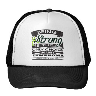 Non-Hodgkins Lymphoma Strong is The Only Choice Mesh Hats