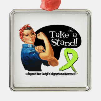 Non-Hodgkins Lymphoma Take a Stand Christmas Ornament