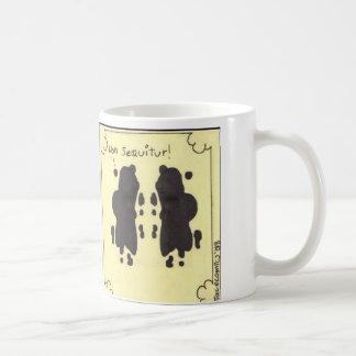 non sequitur basic white mug