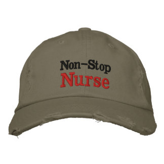 Non-Stop Nurse hat