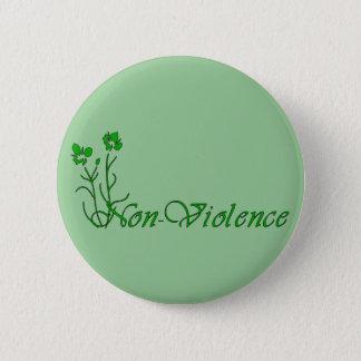 Non-Violence 6 Cm Round Badge