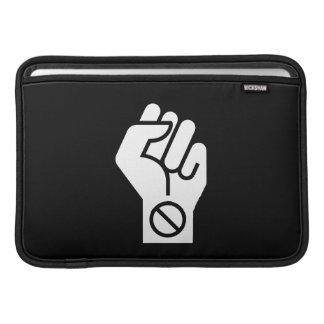 Non-Violent Protest Pictogram MacBook Air Sleeve