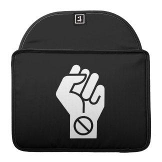 Non-Violent Protest Pictogram MacBook Pro Sleeve