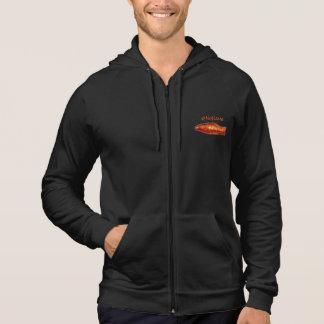 #NoName Goldfish Zipper Hoodie Sweatshirt
