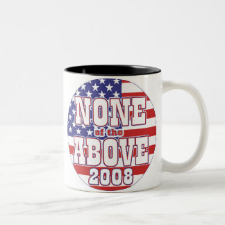 None of the Above 08 Two-Tone Coffee Mug