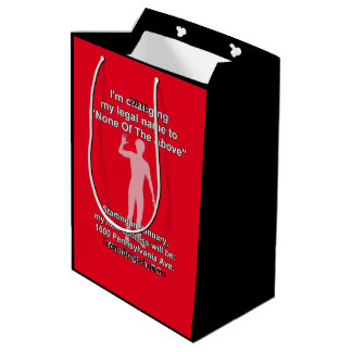 None_of_the_above Medium Gift Bag