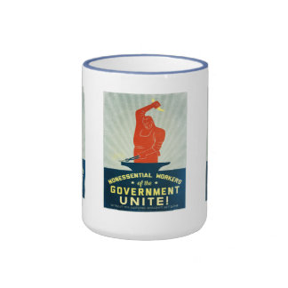 Nonessential Workers of the Government Unite Mugs