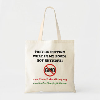 NonGMO Shopping Bag