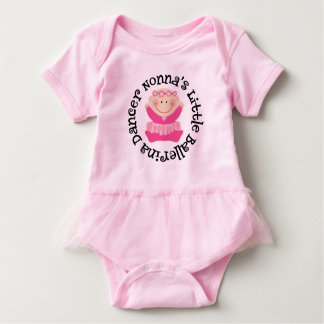 Nonna's Little Ballerina girls Tutu Tee