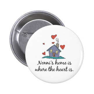 Nonni's Home  is Where the Heart is Pin