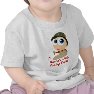 Nonno s Little Fishing Buddy Baby T-shirt