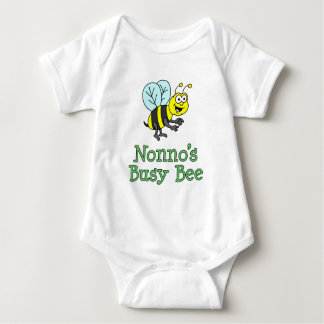 Nonno's Busy Bee Baby Bodysuit