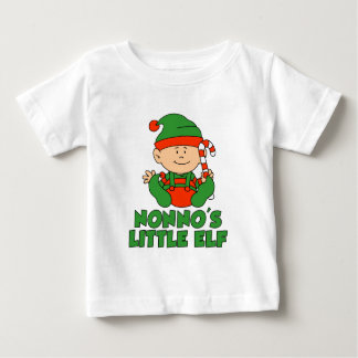Nonno's Little Elf Baby T-Shirt
