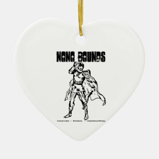 Nono Bounds Action Wear Ceramic Ornament