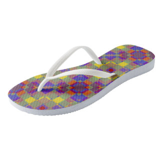 Nonobjective Color Pattern Thongs