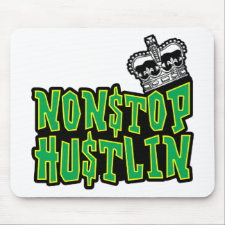 Nonstop Hustlin Logo Mouse Pad