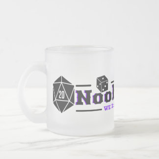 Noobs Guild Pr 1 Frosted Glass Coffee Mug