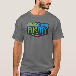 Noobtoob Army Gray T-Shirt