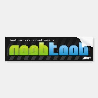 noobtoob bumper sticker (real gamers)