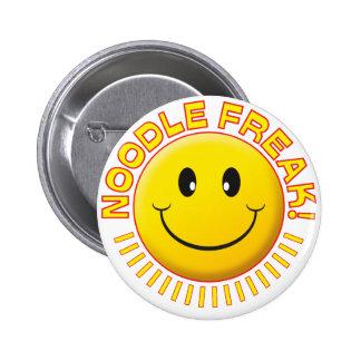 Noodle Freak Smile Pins
