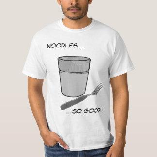 Noodles...so good! 2 shirts