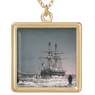 Noon: In Mid-Winter, Port Leopold, from 'Ten Colou Gold Plated Necklace