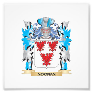 Noonan Coat of Arms - Family Crest Photo Art