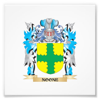 Noone Coat of Arms - Family Crest Photo Print