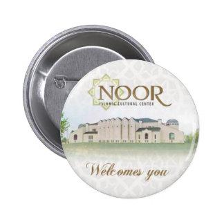 Noor Cultural Islamic Center 6 Cm Round Badge