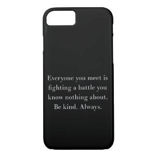 Noora quote iPhone 8/7 case