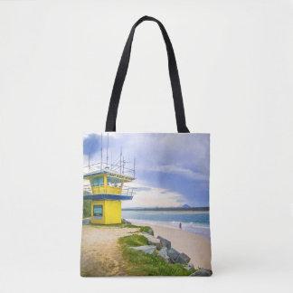 Noosa River Coast Guard Hut Tote Bag