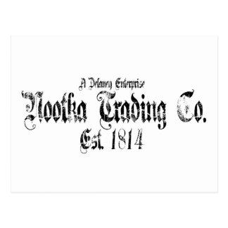 nootka trading postcard