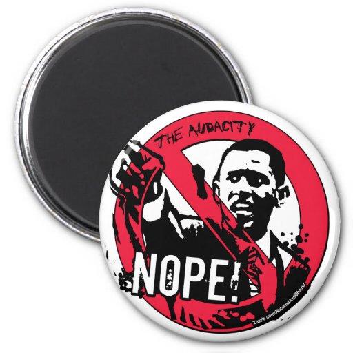 Nope Anti Obama Gear '08 Magnet