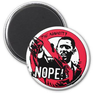 Nope Anti Obama Gear 08 Magnets