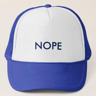 Nope Baseball Cap