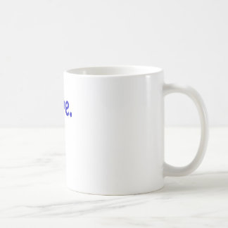 Nope Basic White Mug