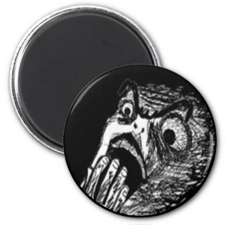 Nope comic face magnet