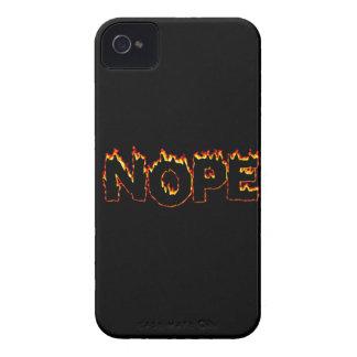 """""""Nope"""" iPhone 4 Case"""