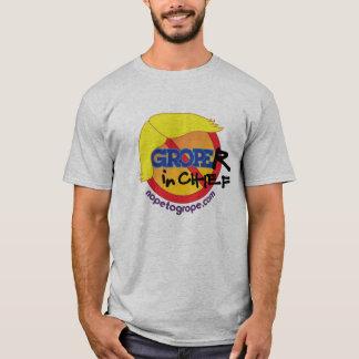 NOPE to GROPE Groper-in-Chief Basic T-Shirt