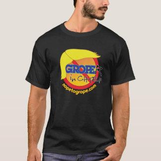 NOPE to GROPE Groper-in-Chief Dark Basic T-Shirt