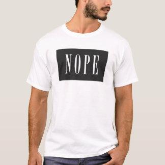 NOPE - White BlackBox T-Shirt