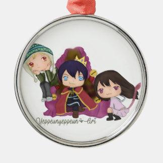 Noragami ~ Yato Hiyori Yukine Metal Ornament