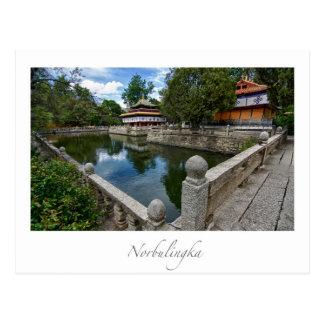 Norbulingka Lhasa Tibet Postcard