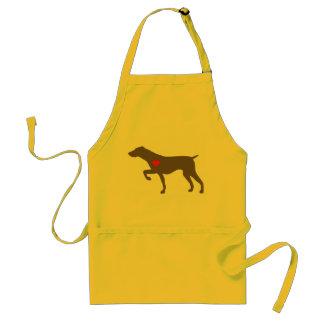 NorCalGSP Rescue Logo Dog Apron
