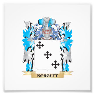 Norcutt Coat of Arms - Family Crest Art Photo