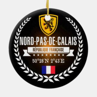 Nord-Pas-de-Calais Ceramic Ornament