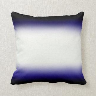 Nordic Blue Black|Blue|White Cushion