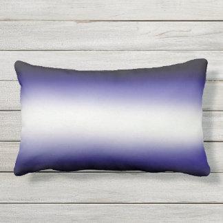 Nordic Blue Black|Blue|White Lumbar Cushion
